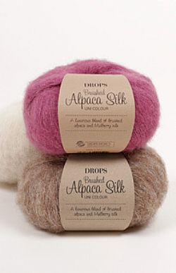 Drops Brushed Alpaca Silk